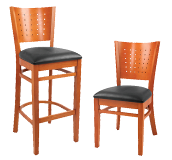 Jacob Highstool & Chair