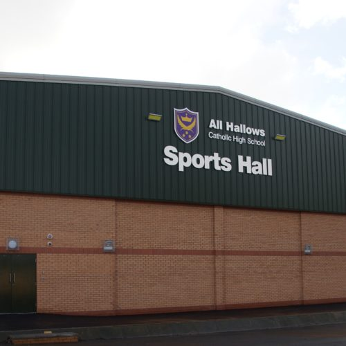 All Hallows Sports Hall, Penwortham