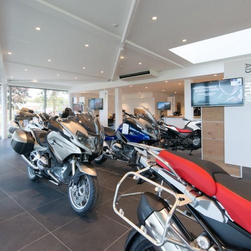 BMW Motorbike Dealership, Preston