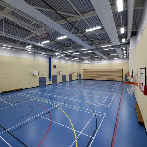 Clitheroe Royal Grammar School Sports Hall
