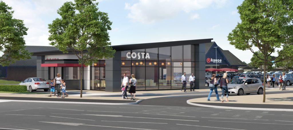 Costa Coffe, Queens Retail Park