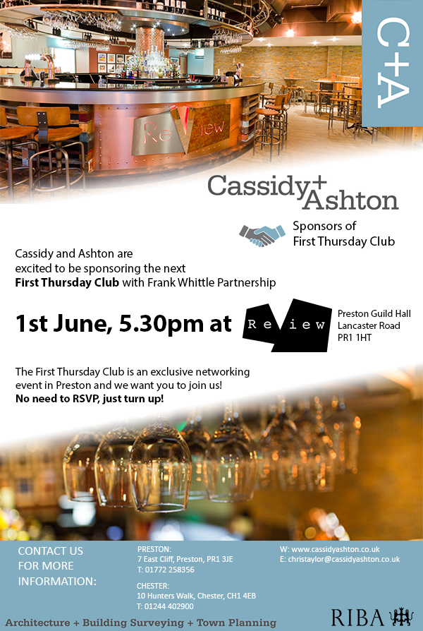 First Thursday 1st June