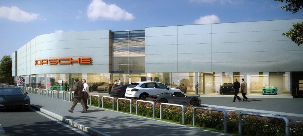 New Porsche Centre for Preston