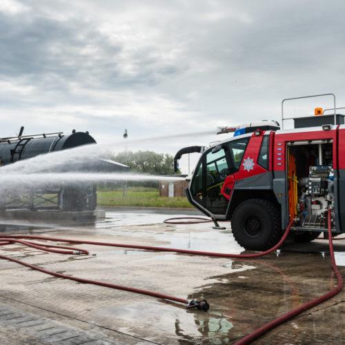 Fire Ground Training Simulator, Warton