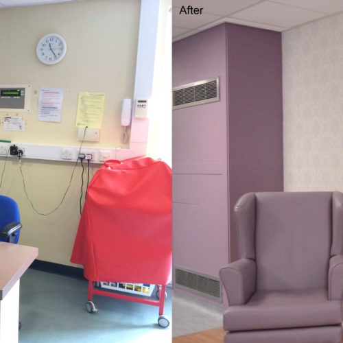 Ellesmere Port Hospital, Ruby Ward refurbishment