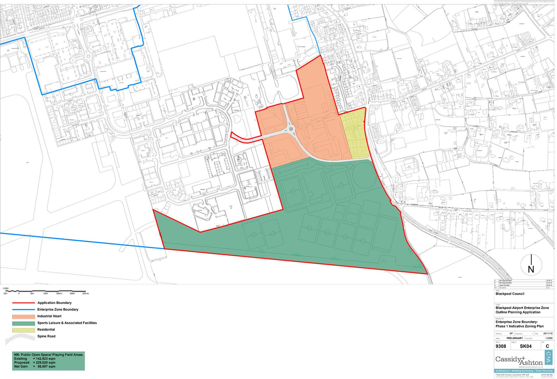 Blackpool Airport EZ plans