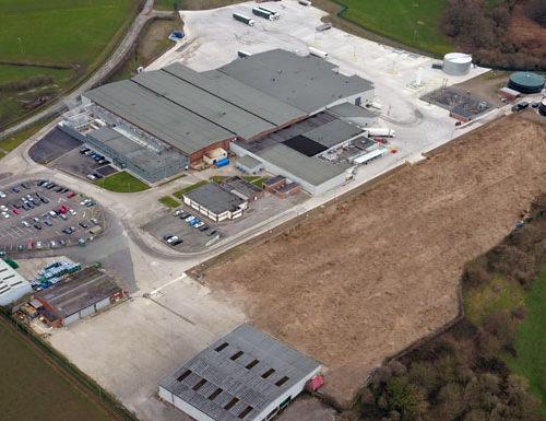 Maelor Foods aerial image