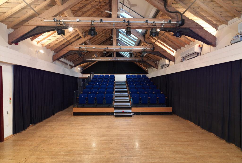 Blackpool Grand Theatre viewing area