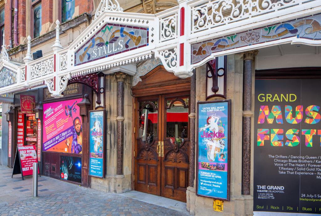 Grand Theatre Blackpool entrance