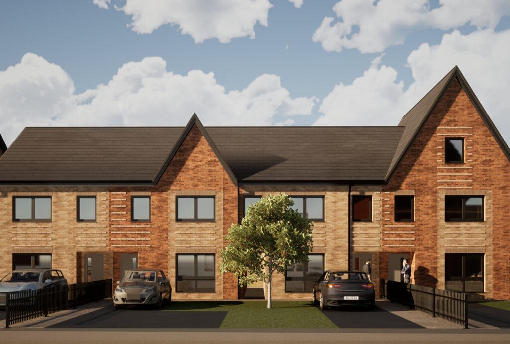 Grange Park Terraced homes