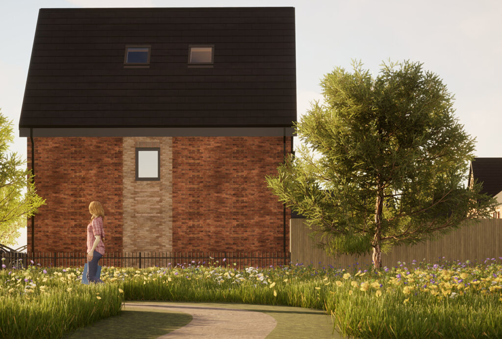 Grange Park residential green space