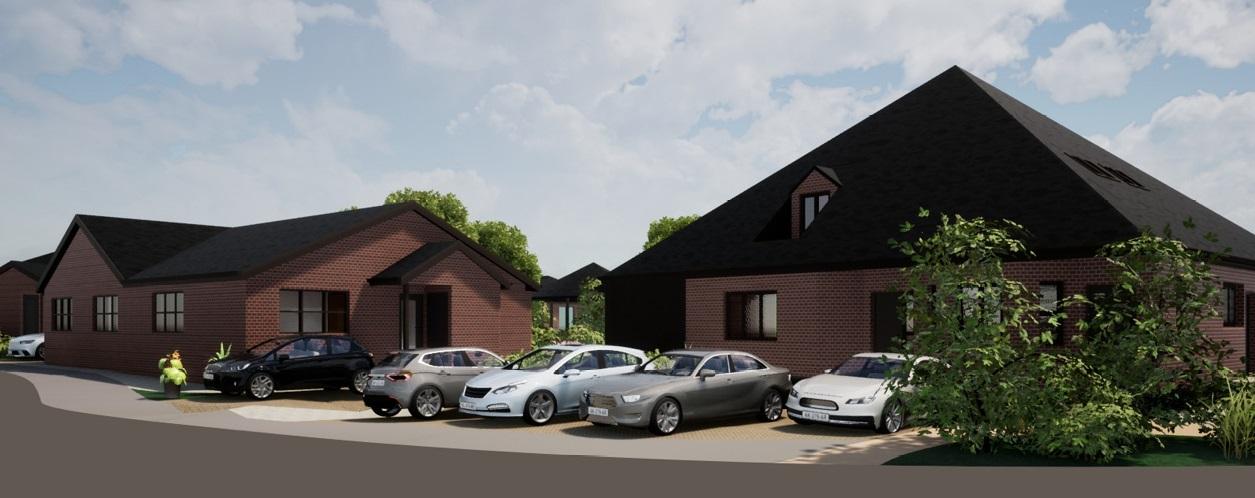 Over 55s retirement houses designed by Cassidy + Ashton