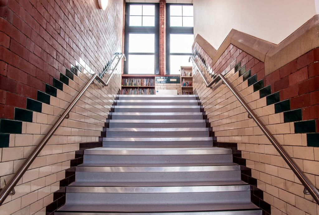 Plymouth Grove interior staircase