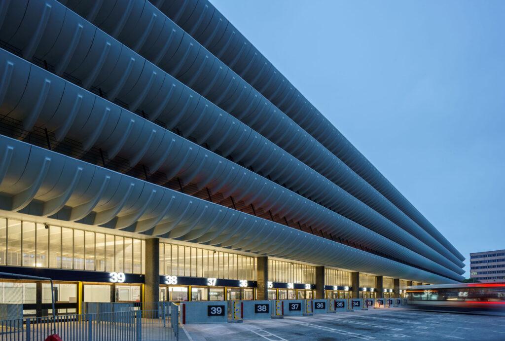 Preston Bus Station parking levels