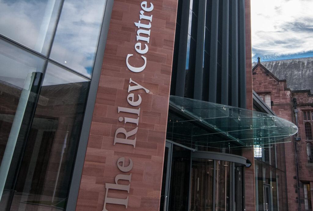 Riley Centre signage