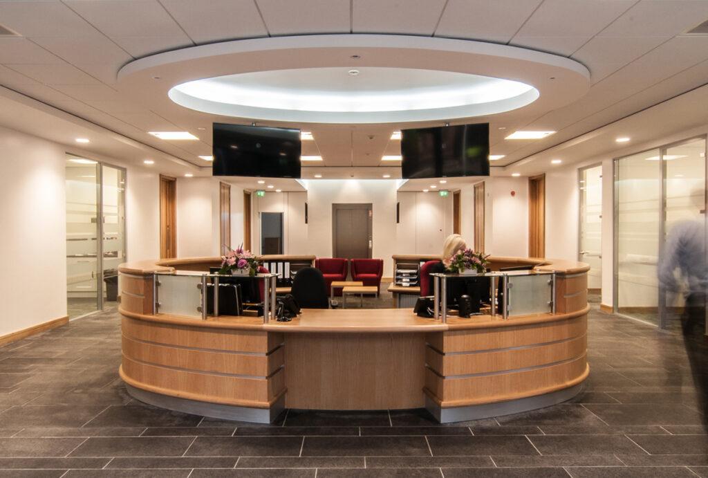 Riley Sixth Form interior
