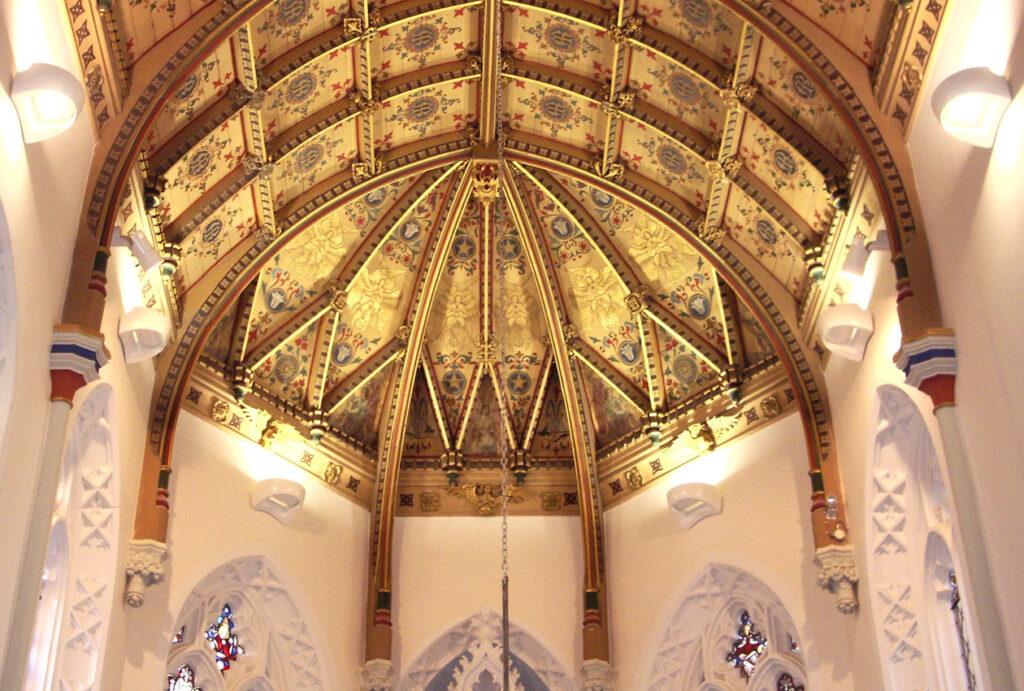 Sodality Chapel ceiling