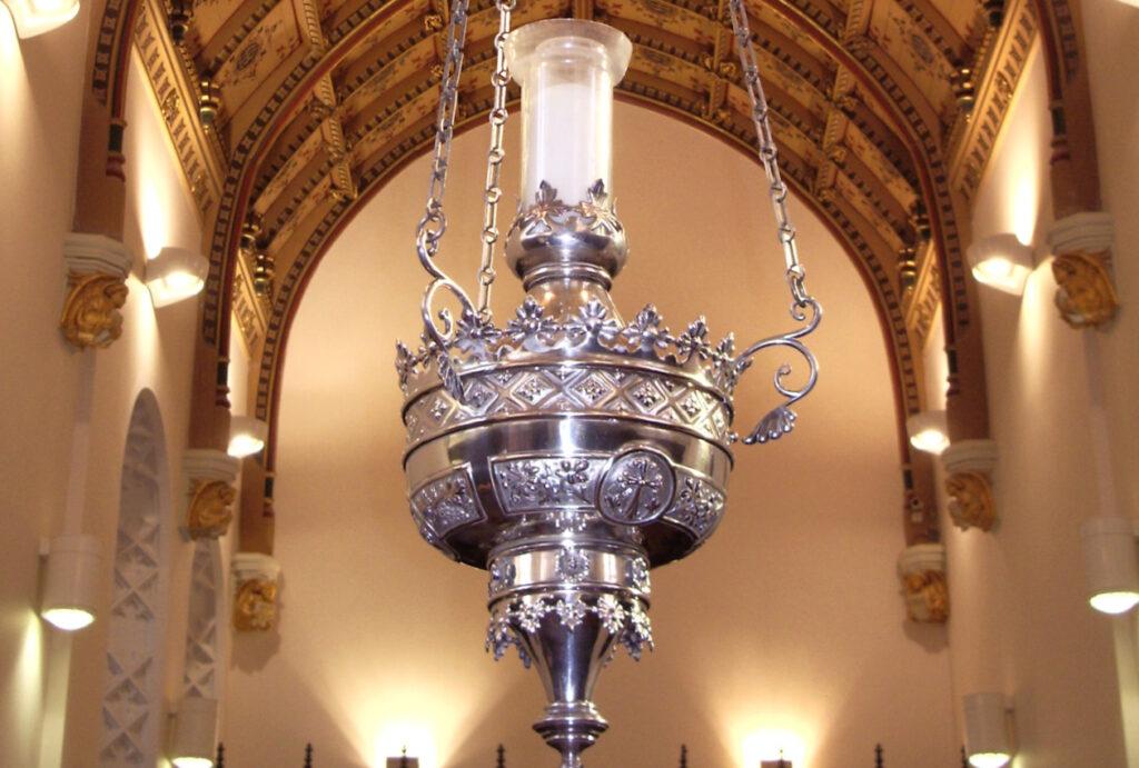 Sodality chapel restored interior