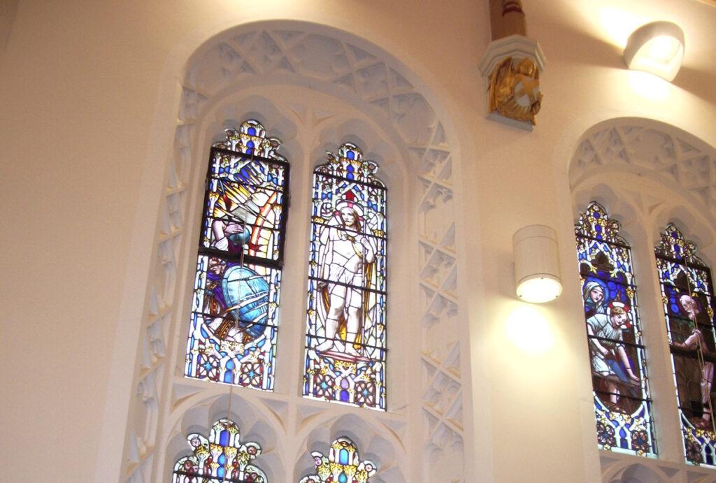 Sodality church window repairs