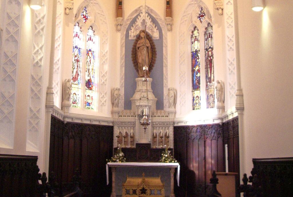 Sodality chapel restoration