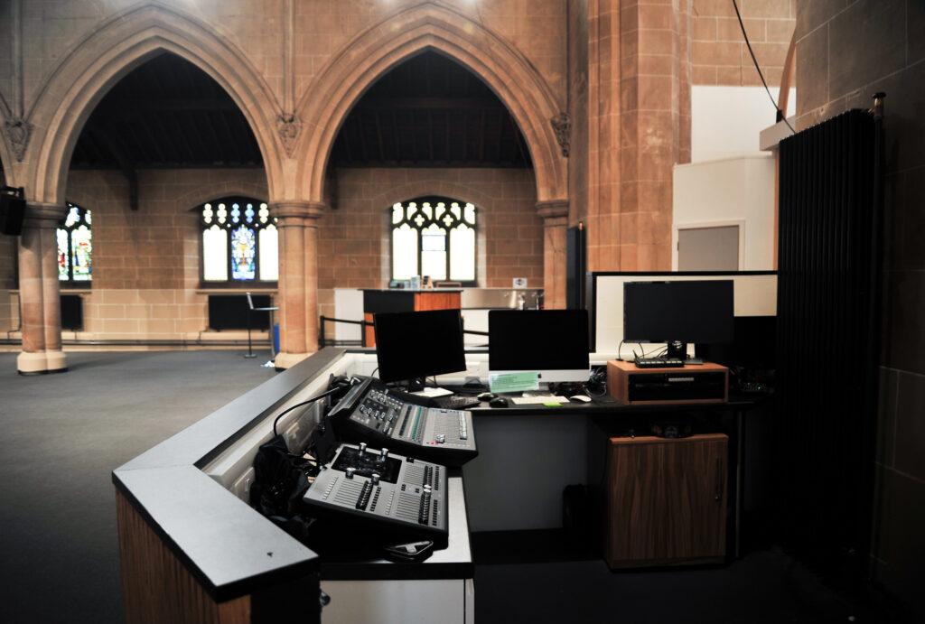 St Barnabas Church sound equipment