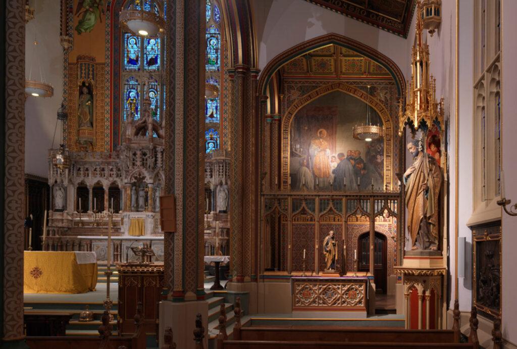 St Peters interior restoration