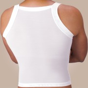 Zippered Compression Tank Top
