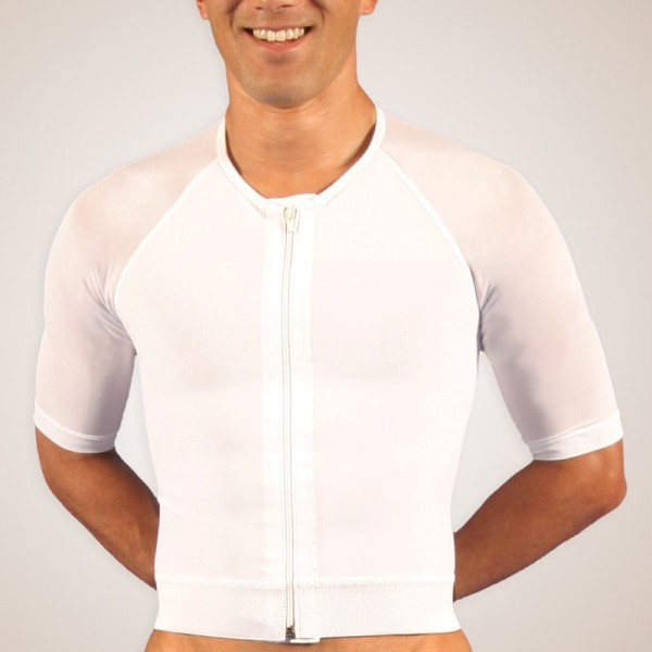 Zippered Compression Vest with Arms