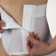 Abdominal Brief, Zippered