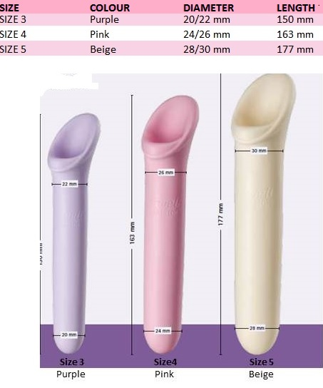 Vagiwell Large Size Chart