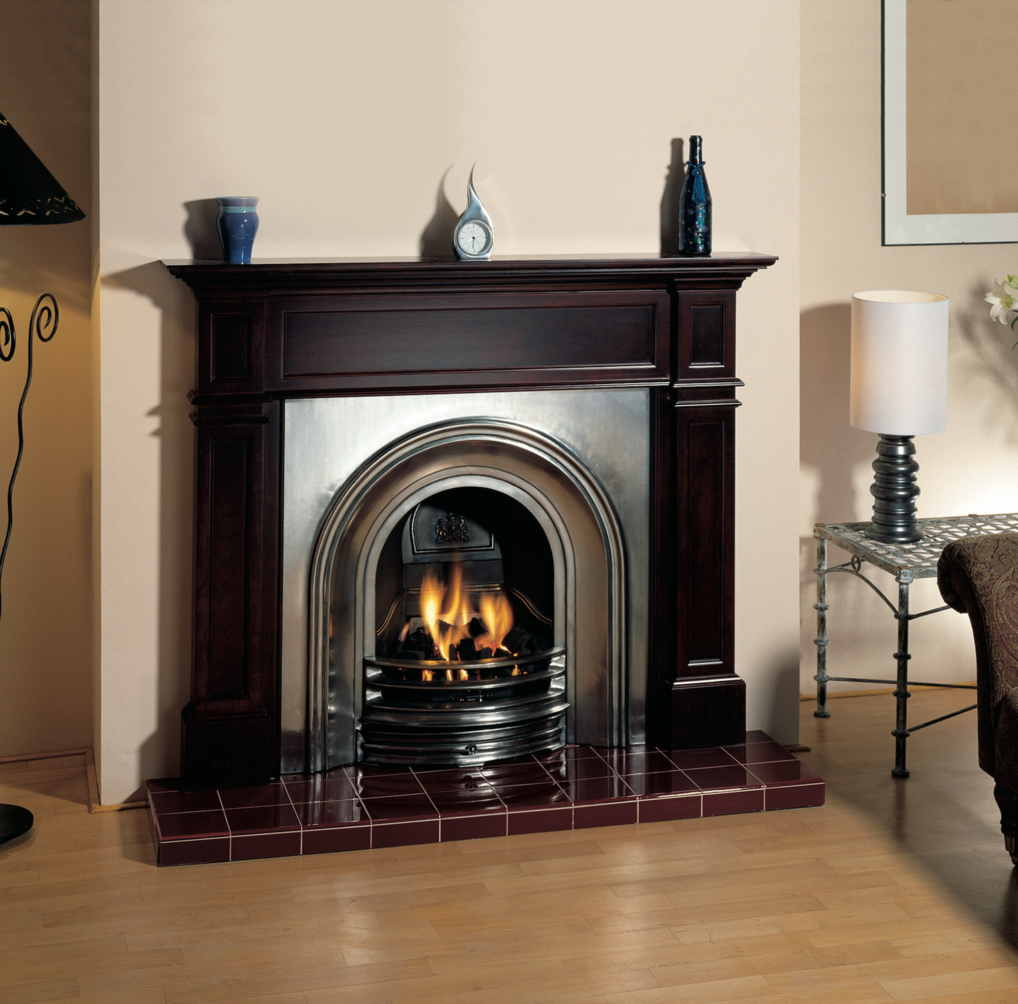 Stovax Classical Arched Fireplace Insert – The Fireplace ...
