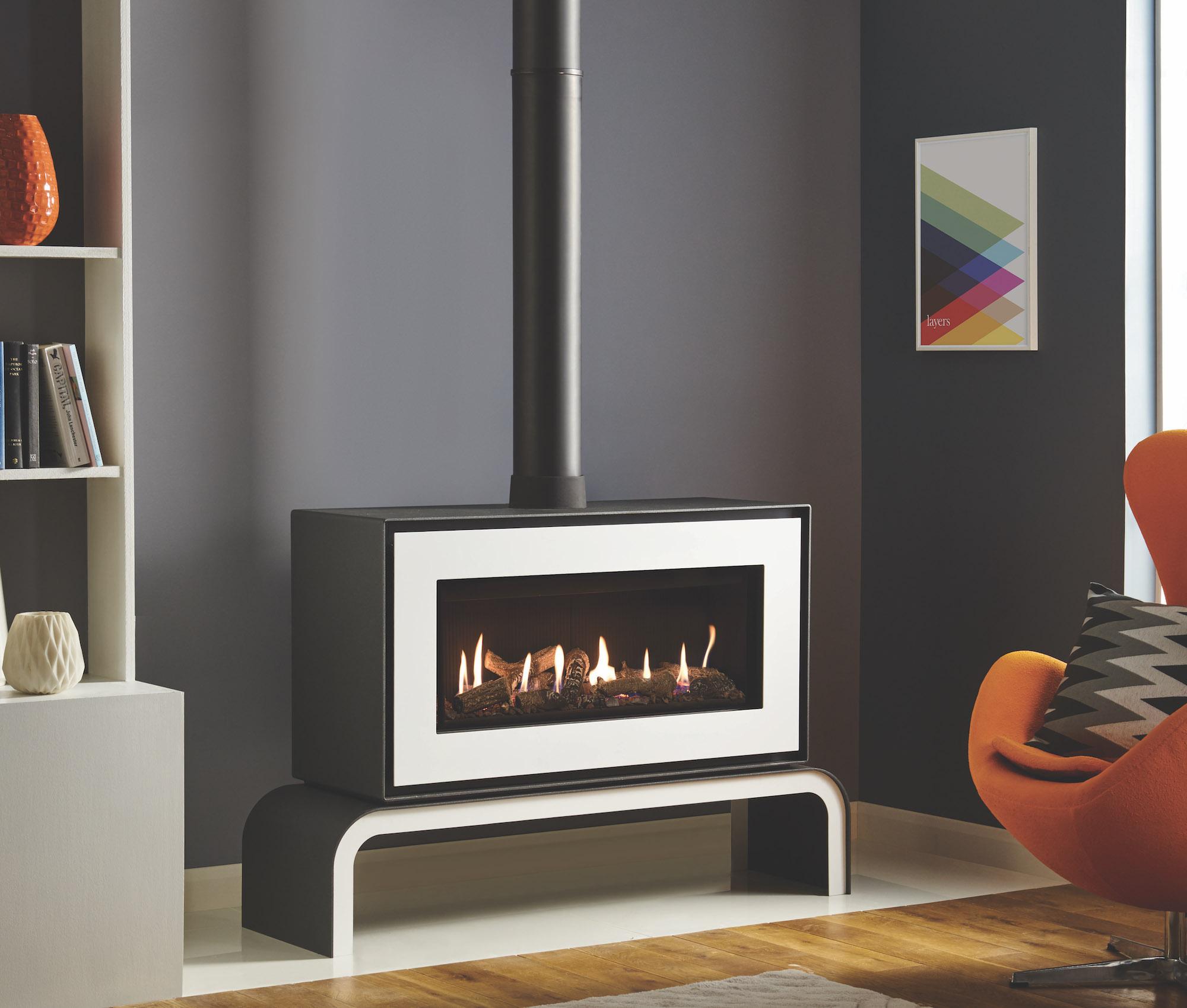 Gazco Studio 2 Freestanding Conventional Flue Gas Stove The Fireplace Company