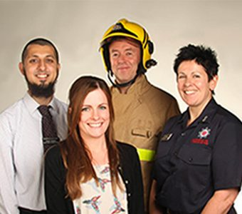 Fire and Rescue service employees
