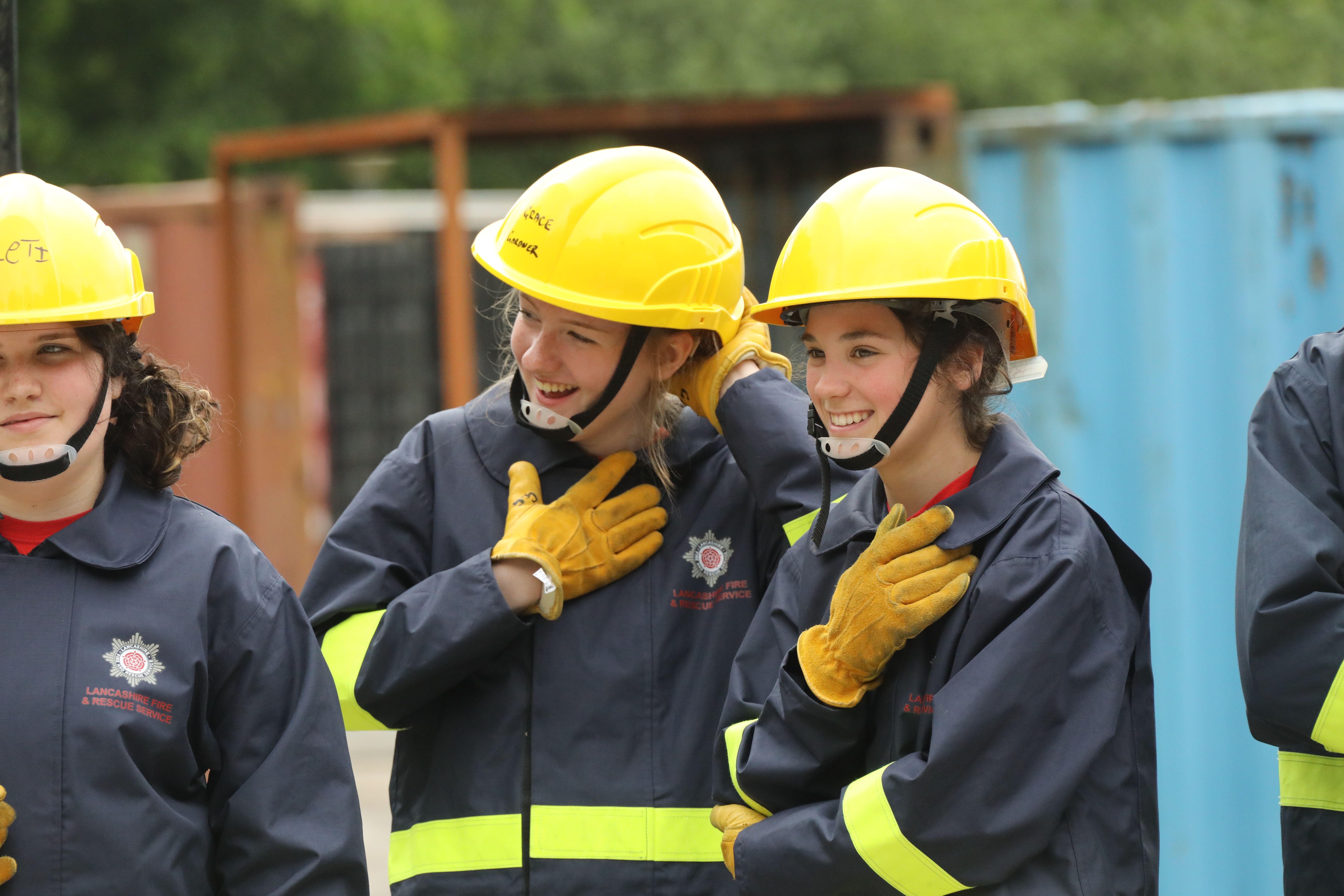 Fire Cadets – Lancashire Fire and Rescue Service