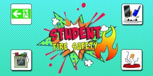 Student Fire Safety image of text and graphics