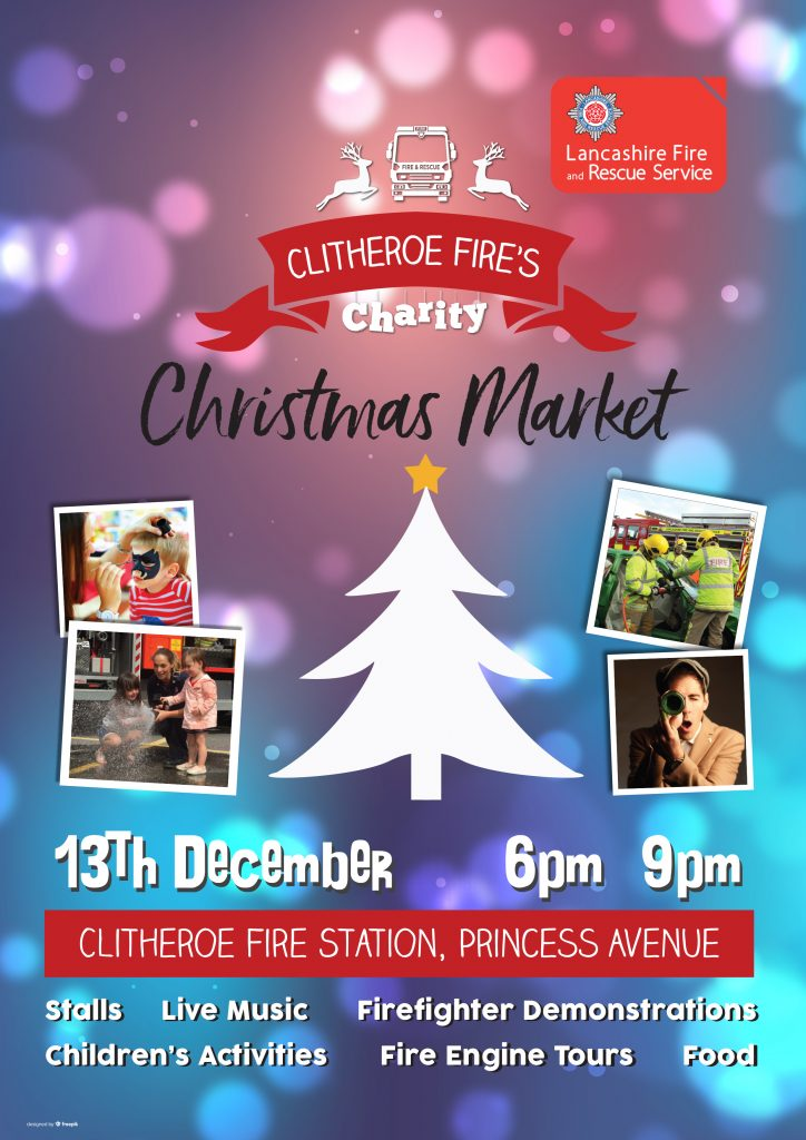 Charity Christmas Market Poster
