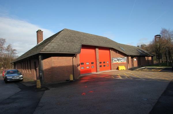 Darwen fire station