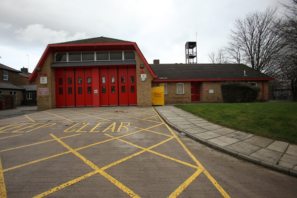 Clitheroe fire station