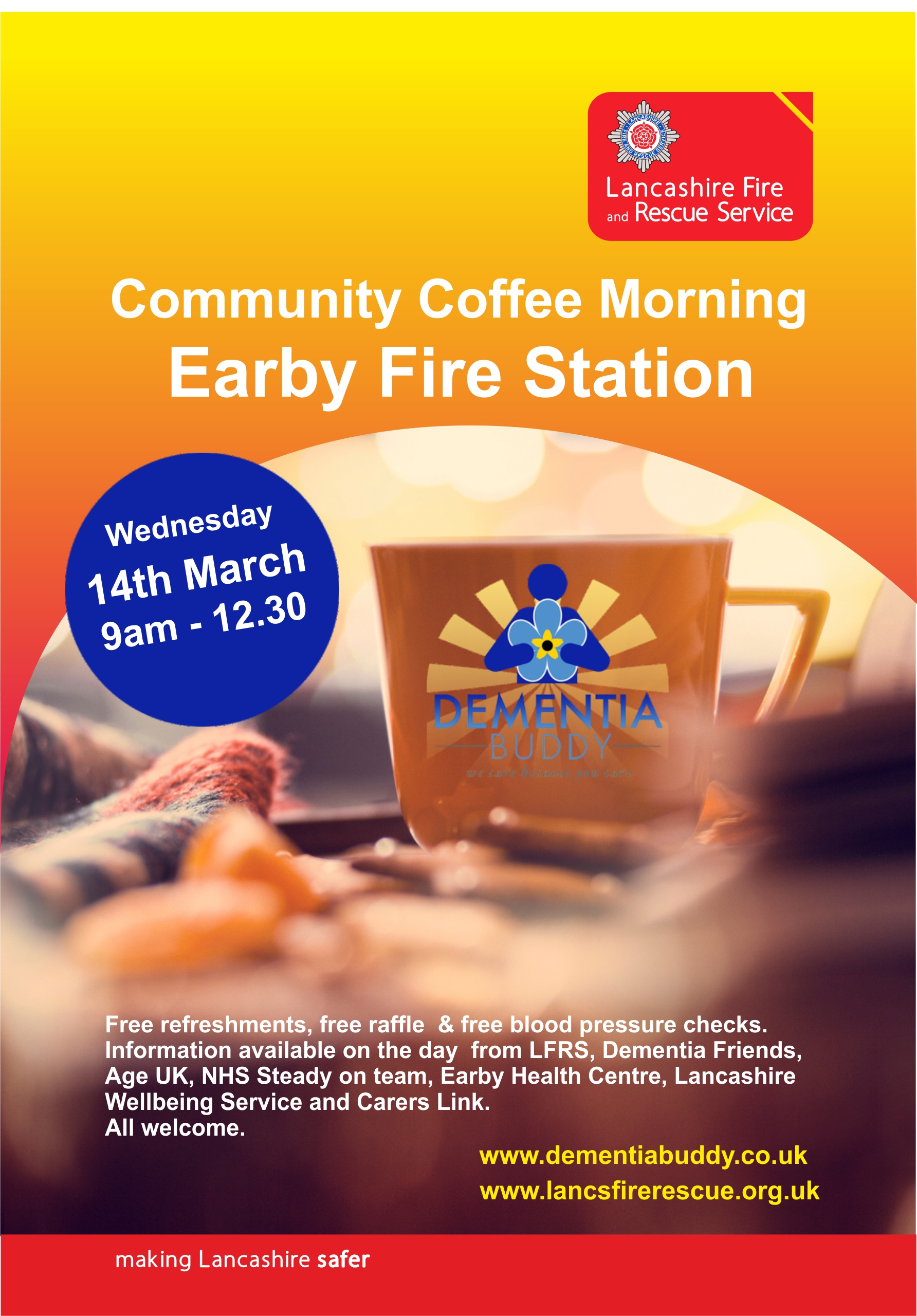 Earby Coffee Morning Dementia