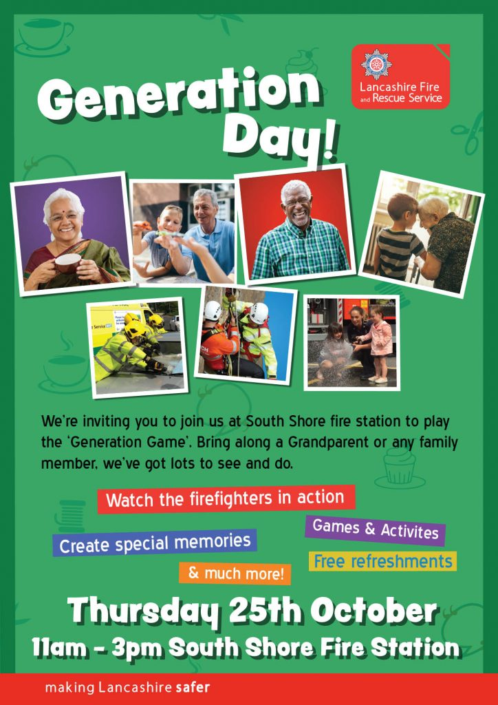 Generation Day Poster for the older peoples event