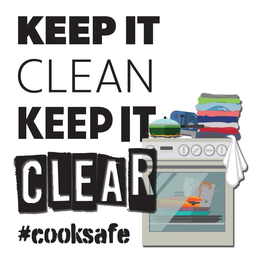 Keep it clean, keep it clear campaign logo