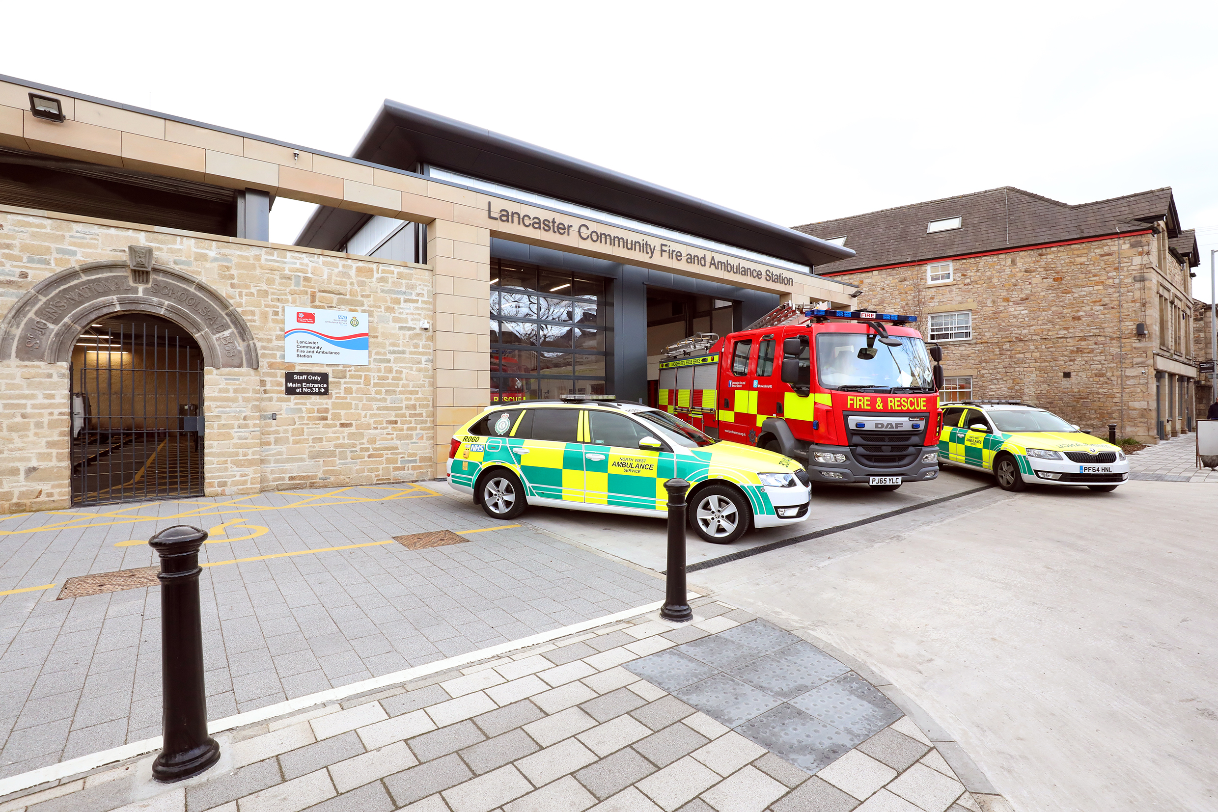 Photo of Lancaster Community Fire and Ambulance Station