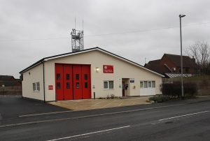 Preesall fire station