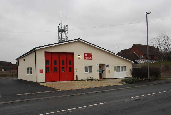 Preesall fire station
