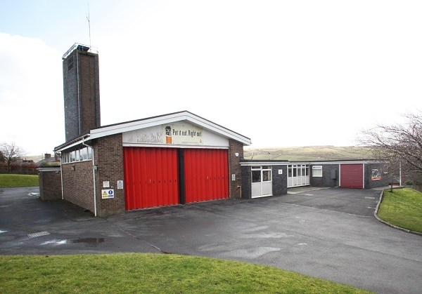 Bacup fire station