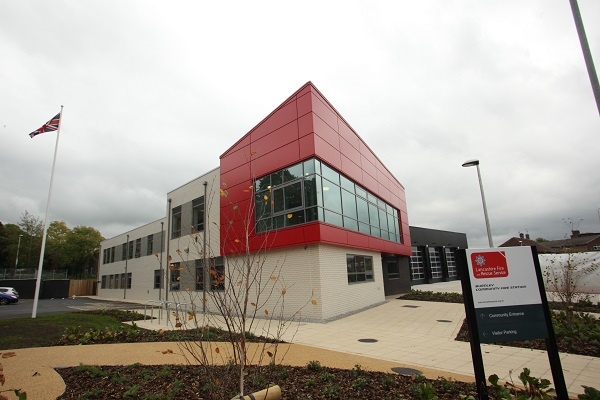 Burnley fire station