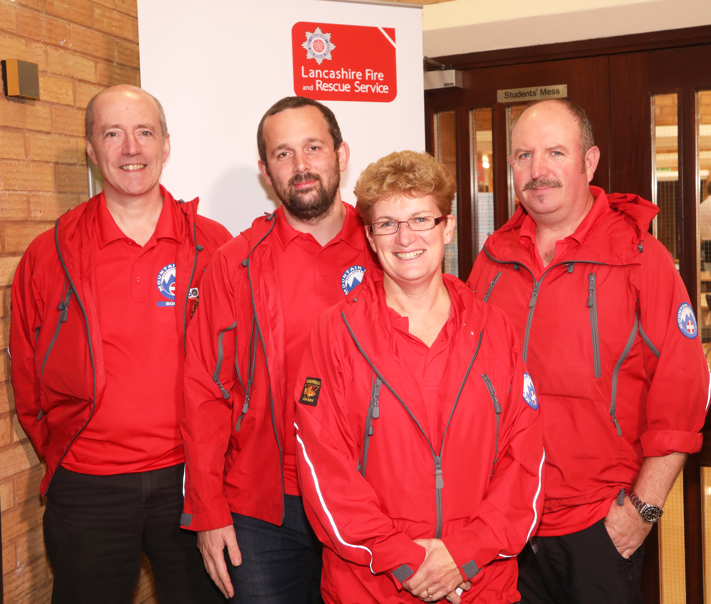 The Bolton Mountain Rescue team