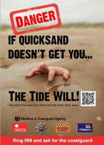 Quicksand Danger Poster