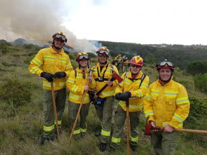 picture of burn team from Bacup