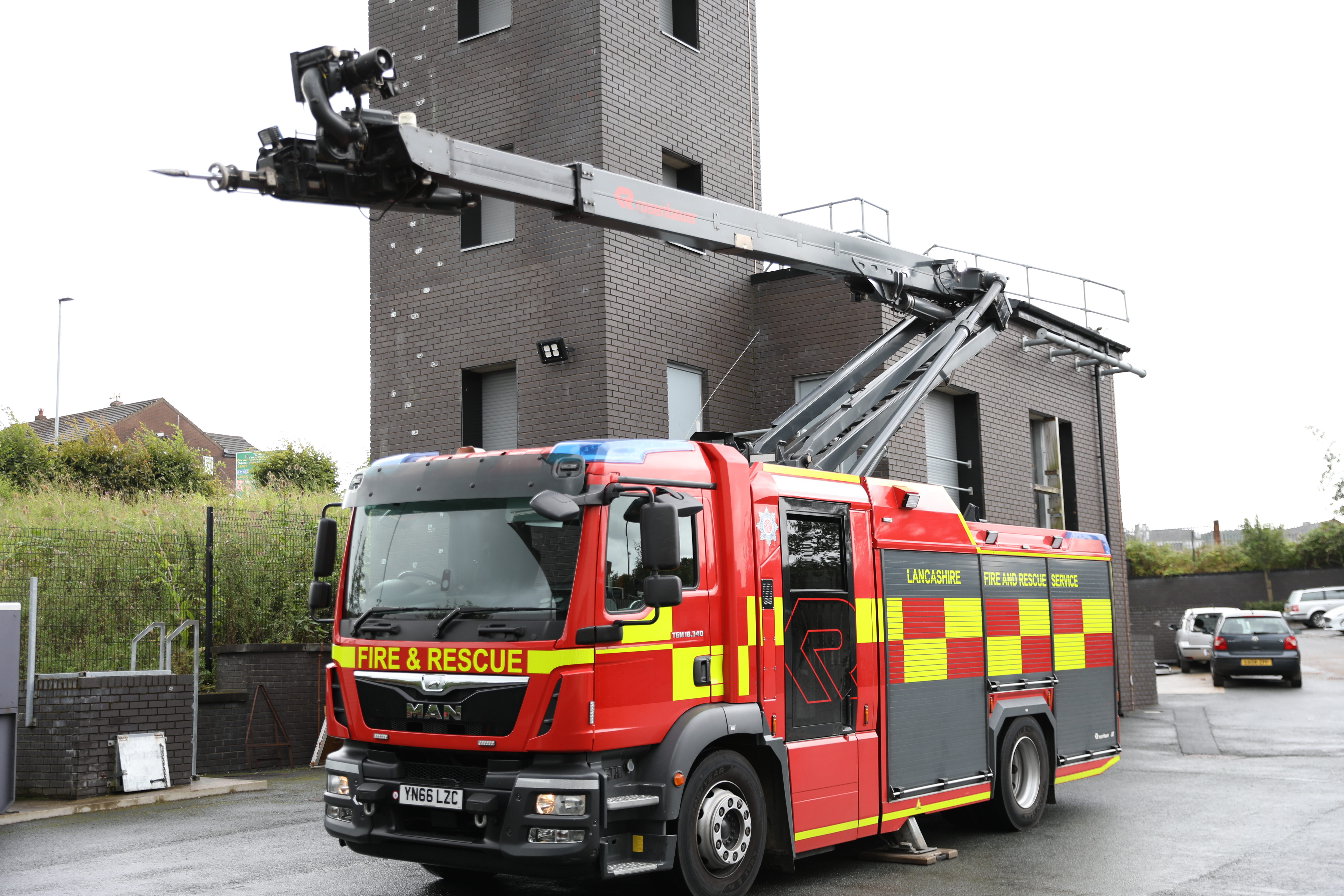 Lancashire Fire and Rescue Service launch new fire engine